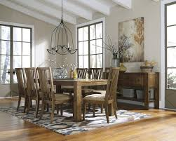 Round Rustic Dining Table Dining Room Modern Rustic Dining Room Mediterranean Table White