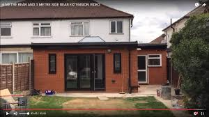 how to 6 metre rear and 3 metre side rear extension video youtube