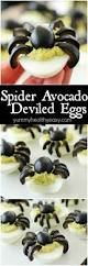 spider avocado deviled eggs yummy healthy easy