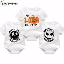 halloween body suit popularne halloween bodysuit baby kupuj tanie halloween bodysuit
