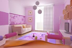 excellent pink and brown wall painting ideas cute living room