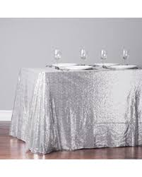 90 x 156 table spring savings on 90 x 156 rectangular sequin sparkly tablecloth