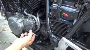 1985 honda shadow vt500 stator removal install diy youtube