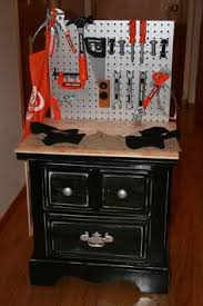 Kids Work Bench Plans Get Free Plans To This Easy Build This Diy Kids Workbench Will