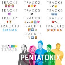 pentatonix on icymi here s the track list for our