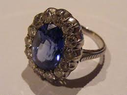 antique rings images Edwardian sapphire and diamond cluster ring alison needful things jpg