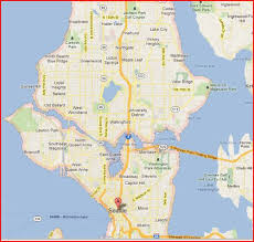 seattle map location map of seattle neighborhoods yahoo search results travel