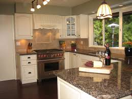 Cream Colored Kitchen Cabinets 273 Best Granite With White Cabinets Images On Pinterest White