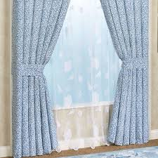 belize blue nautical window treatment