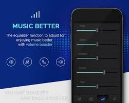 android sound booster apk volume booster and bass booster mod apk