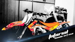 how to adapt plastics from honda crf 2013 to a honda crf 250 2005