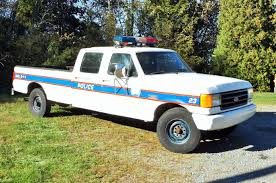 1997 Ford F250 Utility Truck - 1987 ford f 350 custom 5 8l 351 crew cab police truck start up