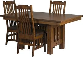 Mission Style Dining Room Tables - beautiful mission style dining room sets ideas rugoingmyway us