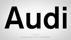 audi logo black and white how to pronounce audi youtube