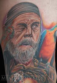 pirate by mike devries tattoos