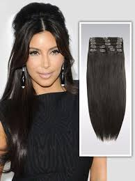 remy hair extensions darkest brown solid clip in indian remy hair extensions s02 s02