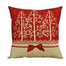 taie d oreiller pour canapé pas cher vintage de noël décoratif housse de coussin coussin taie