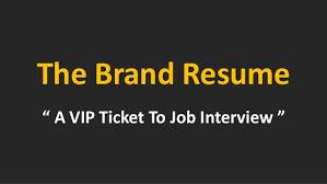How To Job Resume by Resume Branding