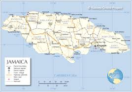 Map Of Jamaica Blank by Political Map Of Jamaica Jamaica Parishes Map Some Interesting