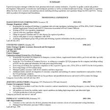 Pharmaceutical Regulatory Affairs Resume Sample Quality Assurance Lead Resume Fred Resumes