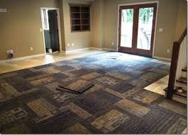 best carpet tiles for basement well suited design how to carpet