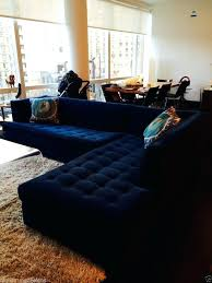 blue sectional sofa with chaise blue sectional sofa extraordinary awesome best 25 tufted sectional