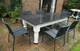slate outdoor dining table incredible inspiration slate dining table all dining room