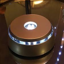 led light stand for crystal glass art elegant white light led light stand for crystal glass art silver