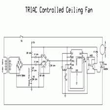 simple triac controlled ceiling fan engineersgarage