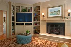cool electric fireplace with bookcases decorating ideas marvelous