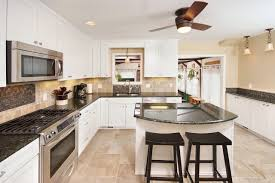 White Cabinets Kitchen Contemporary Kitchens With White Cabinets Interesting Design Ideas