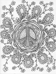 design coloring pages hippie art hippie coloring design payloadz express 5 about this