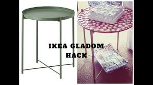 ikea hack diy gladom coffee table youtube