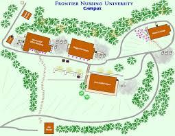University Of Houston Campus Map Campus Frontier Nursing University