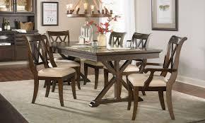 dining trestle table thatcher trestle table dining set haynes furniture virginia u0027s