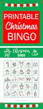 printable christmas bingo holiday games for kids