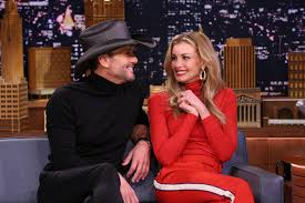 Faith Hill When The Lights Go Down Tim Mcgraw Met His Daughter U0027s First Date Wearing A Bloody Apron