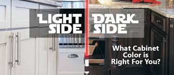 kitchen cabinet colors that hide dirt light side vs side what cabinet color is right for you