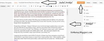 cara membuat blog tulisan kumpulan proposal bahasa inggris dan tutorial komputer cara mudah