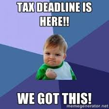 Income Tax Meme - how to get your fba business ready for tax time 2017