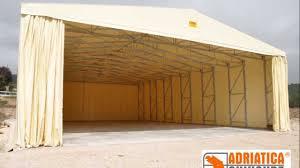 capannoni mobili usati capannoni mobili autoportanti adriatica chiusure