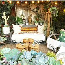 Hippie Home Decorating Ideas Best 25 Bohemian Patio Ideas On Pinterest Outdoor Spaces