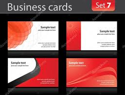 business cards templates u2014 stock vector vtorous 2920686