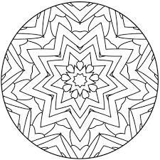 star mandala coloring free printable coloring pages