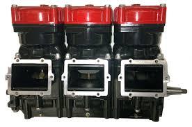rebuilt polaris 1200cc two stroke engine
