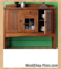 Mission Style Curio Cabinet Plans Mission Sideboard Woodworking Plans Woodshop Plans