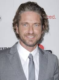 looking with grey hair gerard butler gets better looking with the years and with the