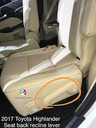 the car seat lady u2013 toyota highlander