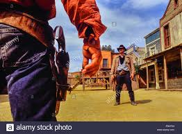 cowboy duel at texas hollywood fort bravo western styled theme