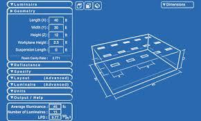 warehouse lighting layout calculator lighting calculator simkar lighting